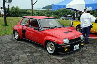 Renault 5 - Renault 5 Turbo (mid-engined)