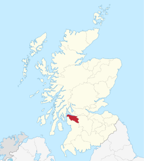 Renfrewshire (historic) lieutenancy area of Scotland