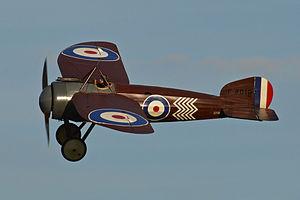 Bristol M.1 - Image: Replica Bristol M1C 'C4918' (G BWJM) (12850490815)