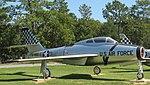 Republic F-84F Thunderstreak, USAF Armaments Museum, Eglin AFB, Florida.jpg