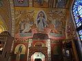 Resurrection of Jesus mosaic mural; Transfiguration Greek Orthodox Church; Lowell, MA; 2012-05-19.jpg