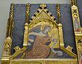 Retaule de Fra Bonifaci Ferrer, àtic del carrer esquerre amb l'arcàngel Gabriel.JPG