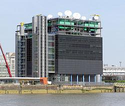 Reuters Data Centre, London.