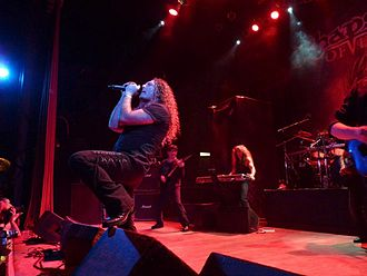Power metal - Italian band Rhapsody of Fire performing in Buenos Aires in 2010.