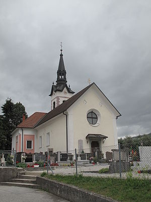 Ribno - Saint James' Church