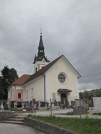 Ribno - Saint James' Church