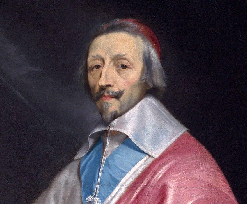 Richelieu, par Philippe de Champaigne.