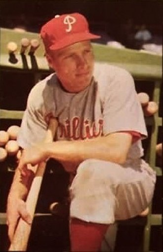 "Philadelphia Phillies - Richie ""Whitey"" Ashburn would go on to become one of the most beloved sports figures in Philadelphia history."