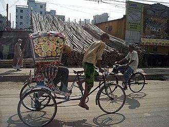 Rickshaw art - Image: Ricksha 3