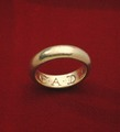 Ring med inskription, Gustav II Adolf - Livrustkammaren - 39340.tif