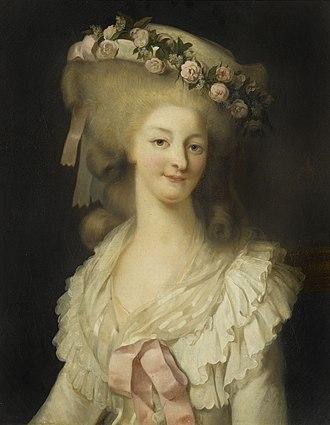 Marie Thérèse Louise of Savoy, Princesse de Lamballe - Marie Therese de Savoie, princesse de Lamballe by Louis-Édouard Rioult (1790–1855)