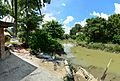 River Saraswati - Jadu Nath Hati Ghat - Sankrail - Howrah - 2013-08-15 1542 1545-1550.JPG