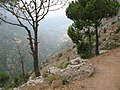 Road to the Monastery of Qozhaya, Kadisha-Qadisha Holy Valley, Lebanon.jpg