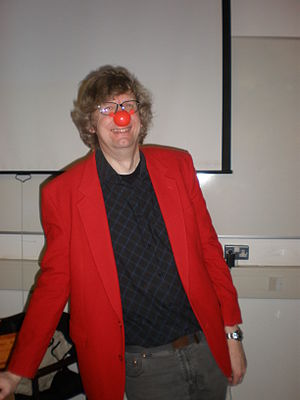 """Rob S. Miles - Rob after a Red Nose Day """"Lecture in Rhyme"""""""