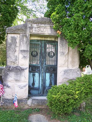 Robert Kingston Scott - Mausoleum, Glenwood Cemetery Napoleon, Ohio