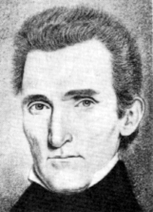 Robert Lucas (governor) - Image: Robert Lucas circa 1838 sketch