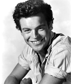Beneath the 12-Mile Reef - Publicity shot of Robert Wagner for film