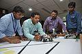 Robot Building Session - Workshop for Organising World Robot Olympiad - NCSM - Kolkata 2016-06-17 4675.JPG