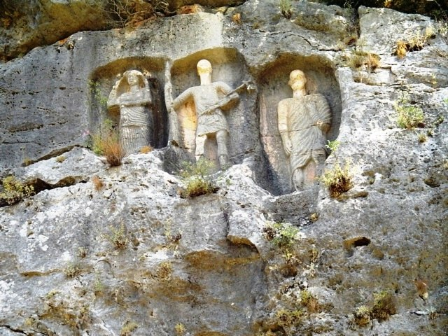 Rock-Cut Tombs-Kanytelleis-Mersin-Turkey
