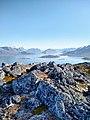 Rocks and Tasermiut Fjord View from Quassik Peak near Nanortalik Greenland.jpg