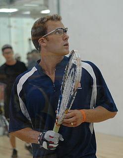 Rocky Carson American racquetball player