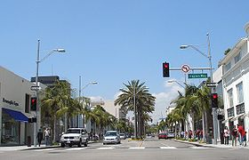 Beverly Hills, ulica Rodeo Drive