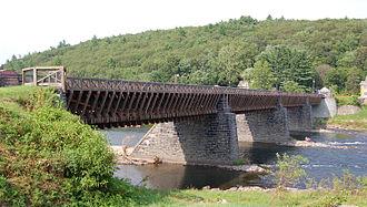 Pike County, Pennsylvania - Roebling's Delaware Aqueduct