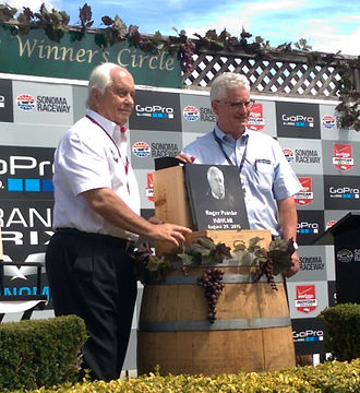 Roger Penske - Roger Penske was inaugurated into the Wall of Fame at Sonoma Raceway in 2015