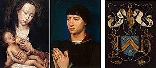 Portrait Diptych of Jean de Gros