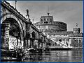 Rom, Engelsburg - Castel sant' Angelo -Mausoleum di Adriano (8150021297).jpg