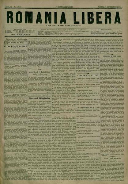 File:România liberă 1885-09-27, nr. 2453.pdf