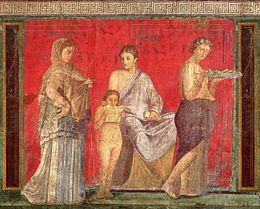 Roman fresco Villa dei Misteri Pompeii 001.jpg