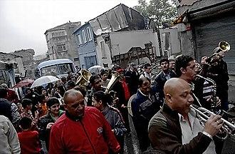 Romani people in Turkey - Image: Romanlar (Istanbul)