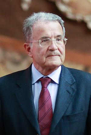 Romano Prodi - Image: Romano Prodi 2016 crop