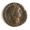 Romerskt bronsmynt med Trajanus, 231-235 - Skoklosters slott - 110663.tif
