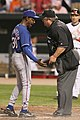 Ron Washington and Joe West (3474552743).jpg
