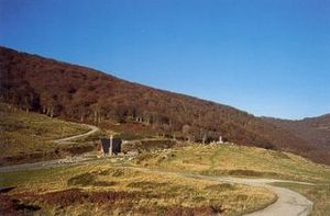 Battle of Roncevaux Pass - Ibaneta (Roncevaux) pass
