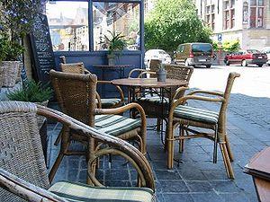 Rattan wicker chairs