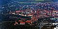 Rothenburg ob der Tauber an einem etwas trüben Februartag aus dem Gyrocopter fotografiert. 02.jpg