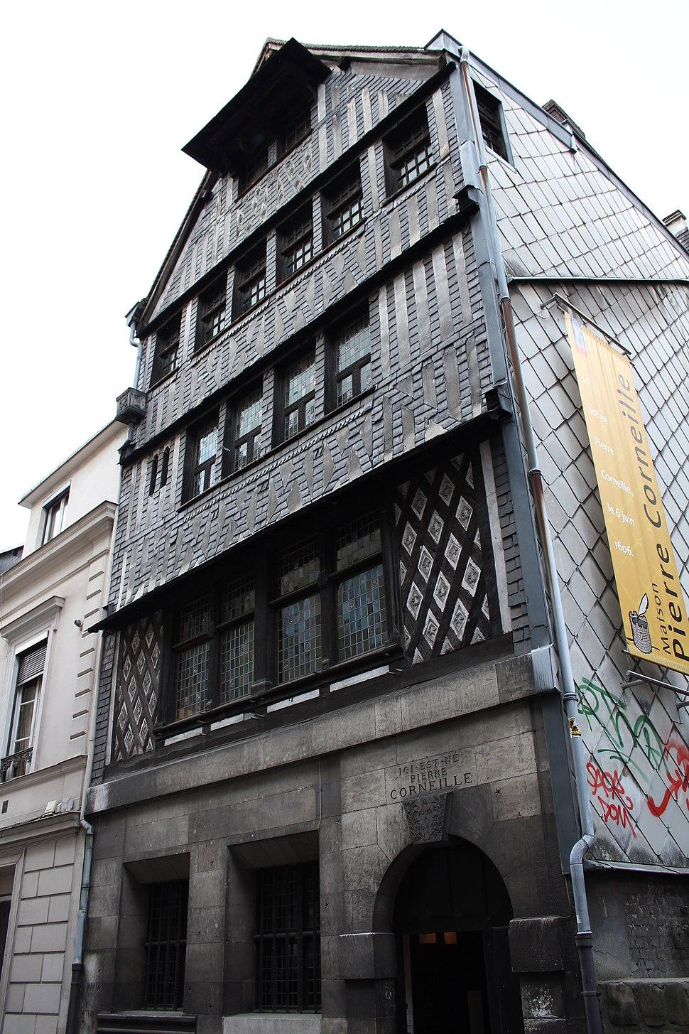 Rouen - Maison natale de Pierre Corneille 03