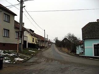 Rozdrojovice Municipality in South Moravian, Czech Republic