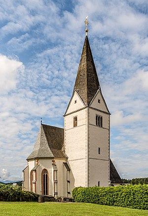 Parish church Saint Mary Magdalene, Ruden, Carinthia, Austria
