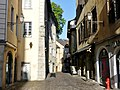 Rue Juiverie à Chambéry tôt le matin (été 2017).JPG