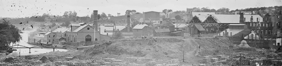Ruins of Tredegar Ironworks, Richmond, Va. April, 1865 - NARA - 528978 cropped.png