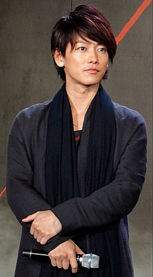 Rurouni Kenshin Kyoto InfernoThe Legend Ends, Red Carpet Premiere Takeru Sato.jpg