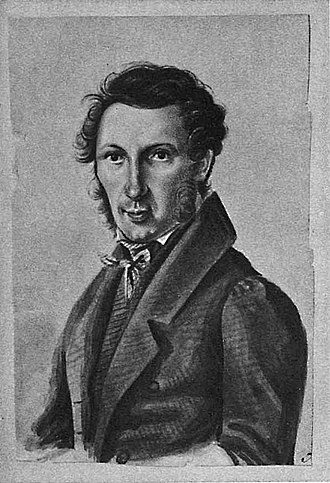 Sergei Petrovich Trubetskoy - Trubetskoy in the 1830s, by  Nikolay Bestuzhev