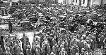Soldats russes faits prisonniers à Tannenberg