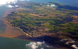 Bembridge - Aerial view of Ryde and Bembridge