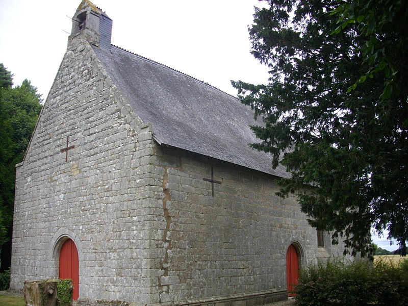 Saint Susanna chapel of Sérent (Morbihan, France)