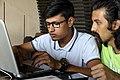 S.M.Tanim & Moheen Reeyad, Wikicamp Chattogram, 2019.04.20 (02).jpg
